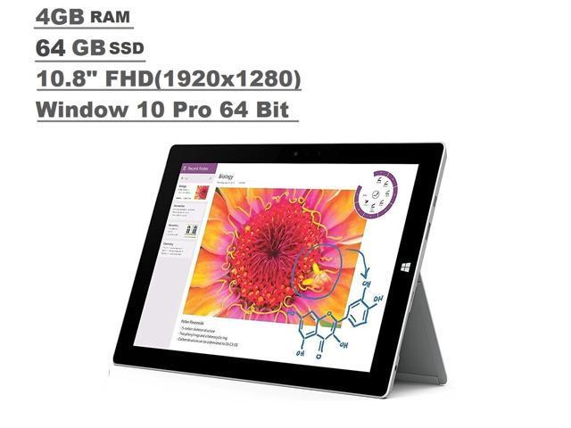 Refurb: Microsoft Surface 3 Tablet 4GB RAM 64GB 10.8-inch FHD Intel Atom $119.99