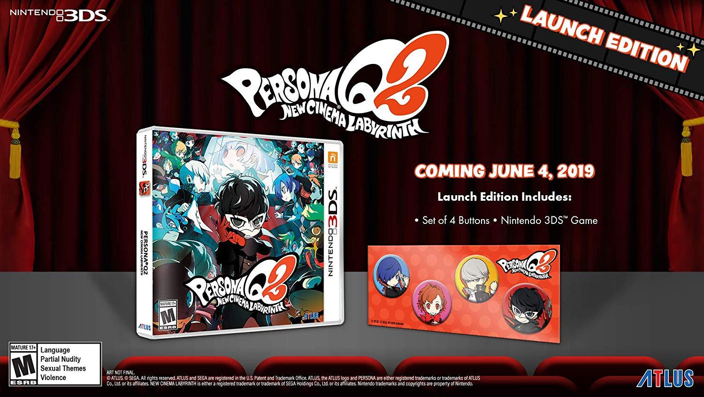 Persona Q2: New Cinema Labyrinth Launch Edition $35 at Amazon