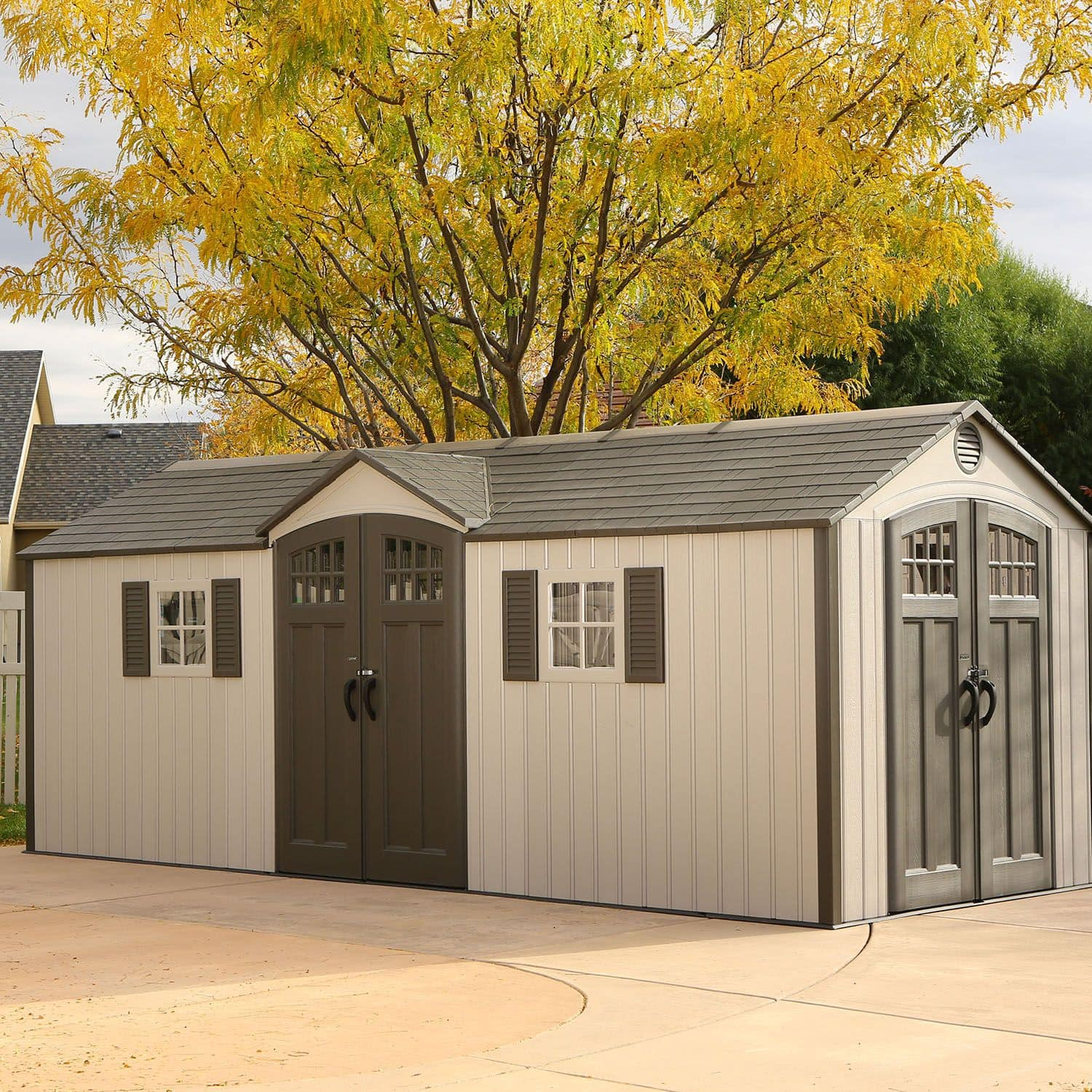 Lifetime 20' x 8' Outdoor Storage Shed Building $1,999 at Sam's Club