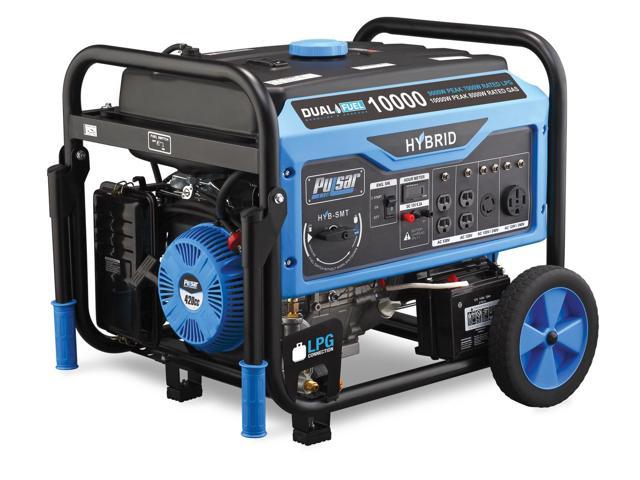 Pulsar Dual Fuel 10000w Generator $749.99 at Newegg.com