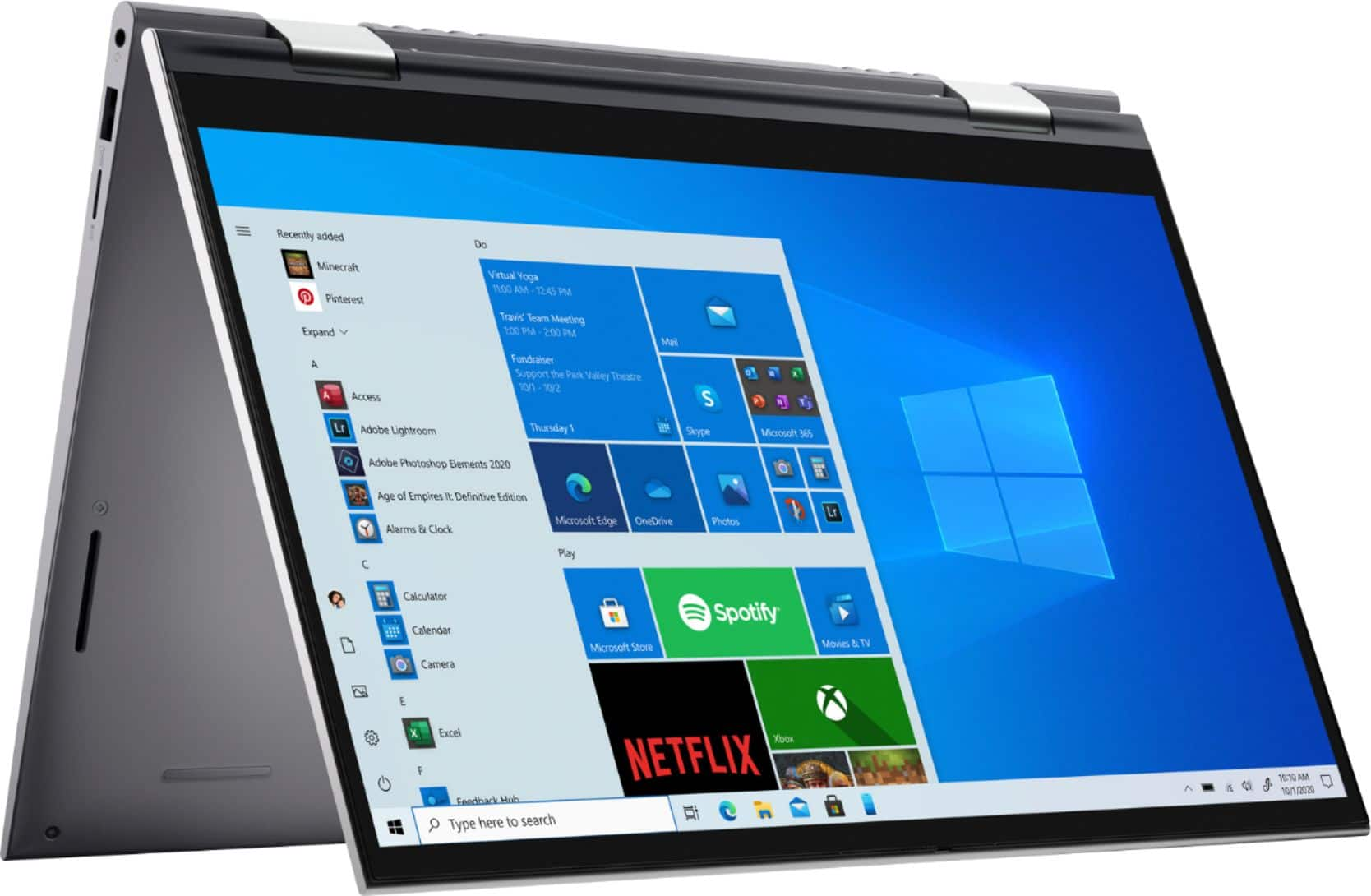 """Dell - Inspiron 5000 2-in-1 14.0"""" Touch-Screen Laptop - Intel Core i5 - 8GB RAM - 512GB SSD Backlight Keyboard - $679.99 BestBuy"""