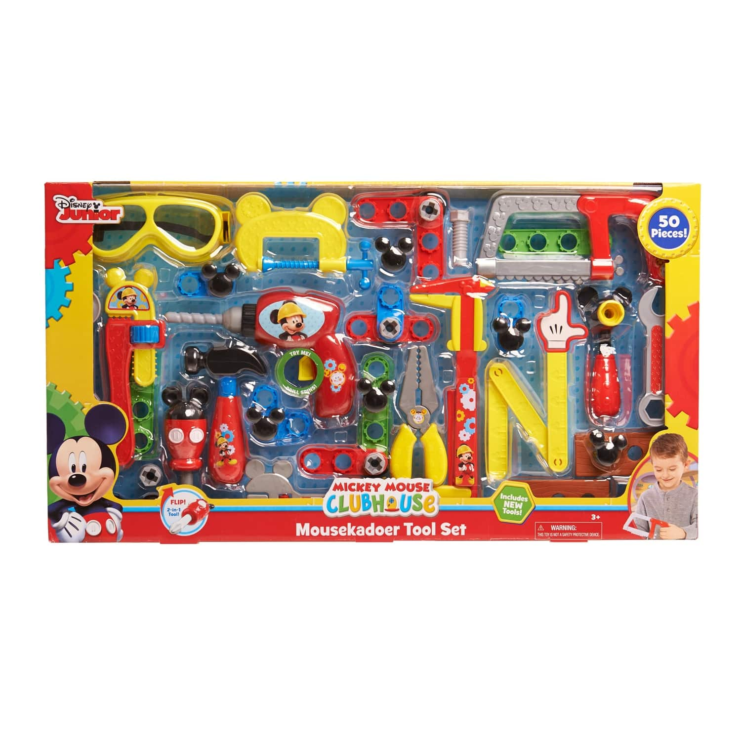 Kohls Disney's Mickey Mouse Clubhouse Mousekadoer Tool Set (50 pieces) $9.99 plus shipping