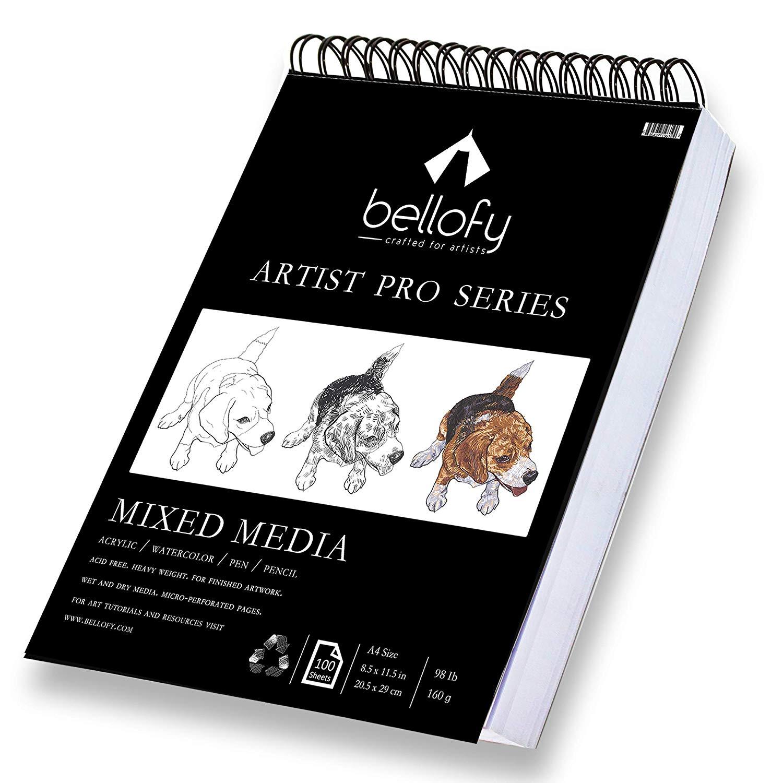 Bellofy 100 Sheet Sketchpad Artist Pro Drawing Pad 59 Off
