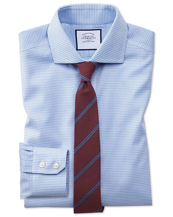 Charles Tyrwhitt Men's Dress Shirts (Various Styles) 5 for $150