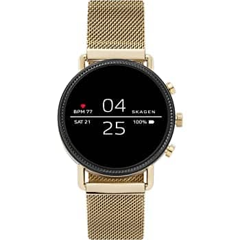 Skagen Connected Falster 2 Stainless Steel Touchscreen Smartwatch $99 @ Amazon