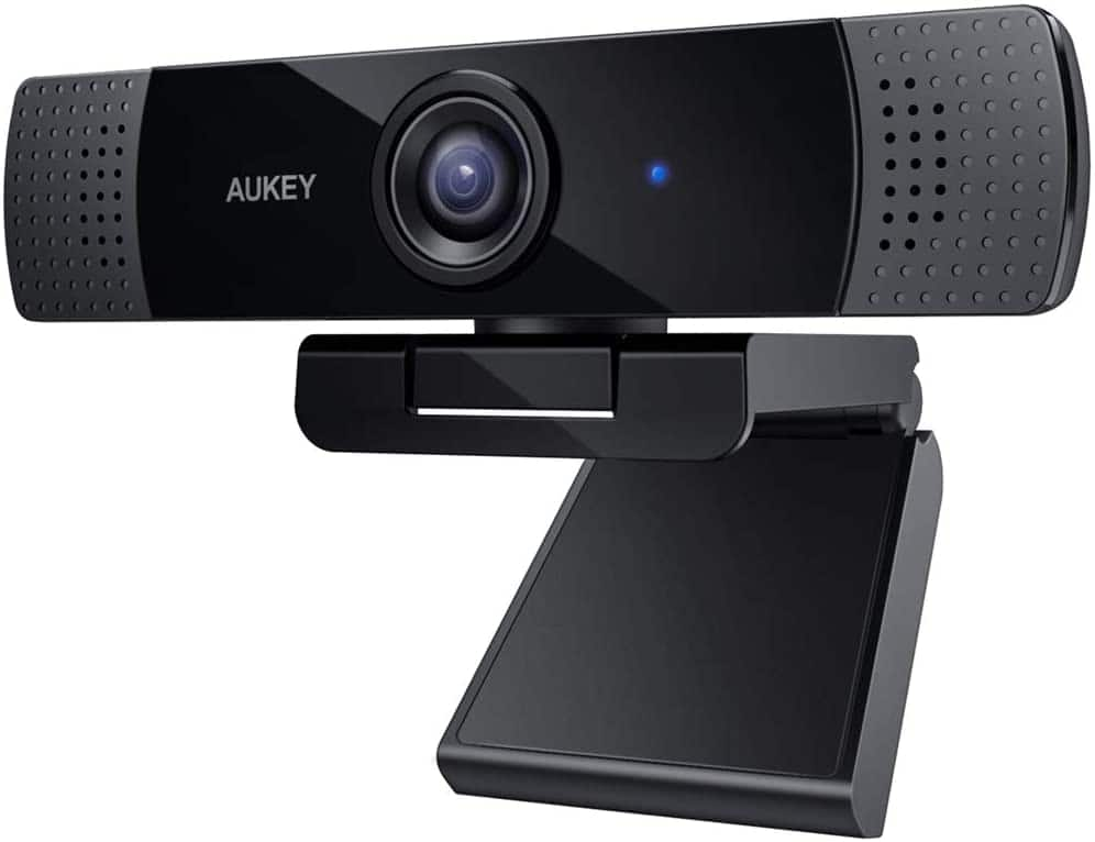 AUKEY FHD Webcam 1080p Live Streaming Camera with Stereo Microphone for $39.99