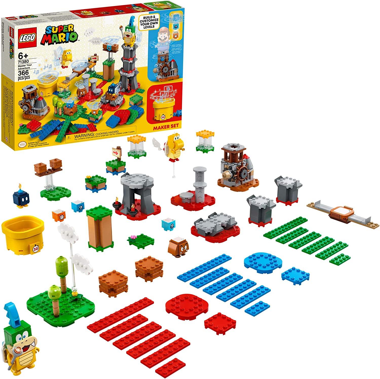 LEGO Super Mario Master Your Adventure Maker Set 71380 Building Kit (366 pcs) for $47.99