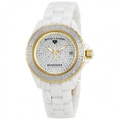 Swiss Legend South Beach Diamond Watch Set from Jomashop -- $125, free shipping