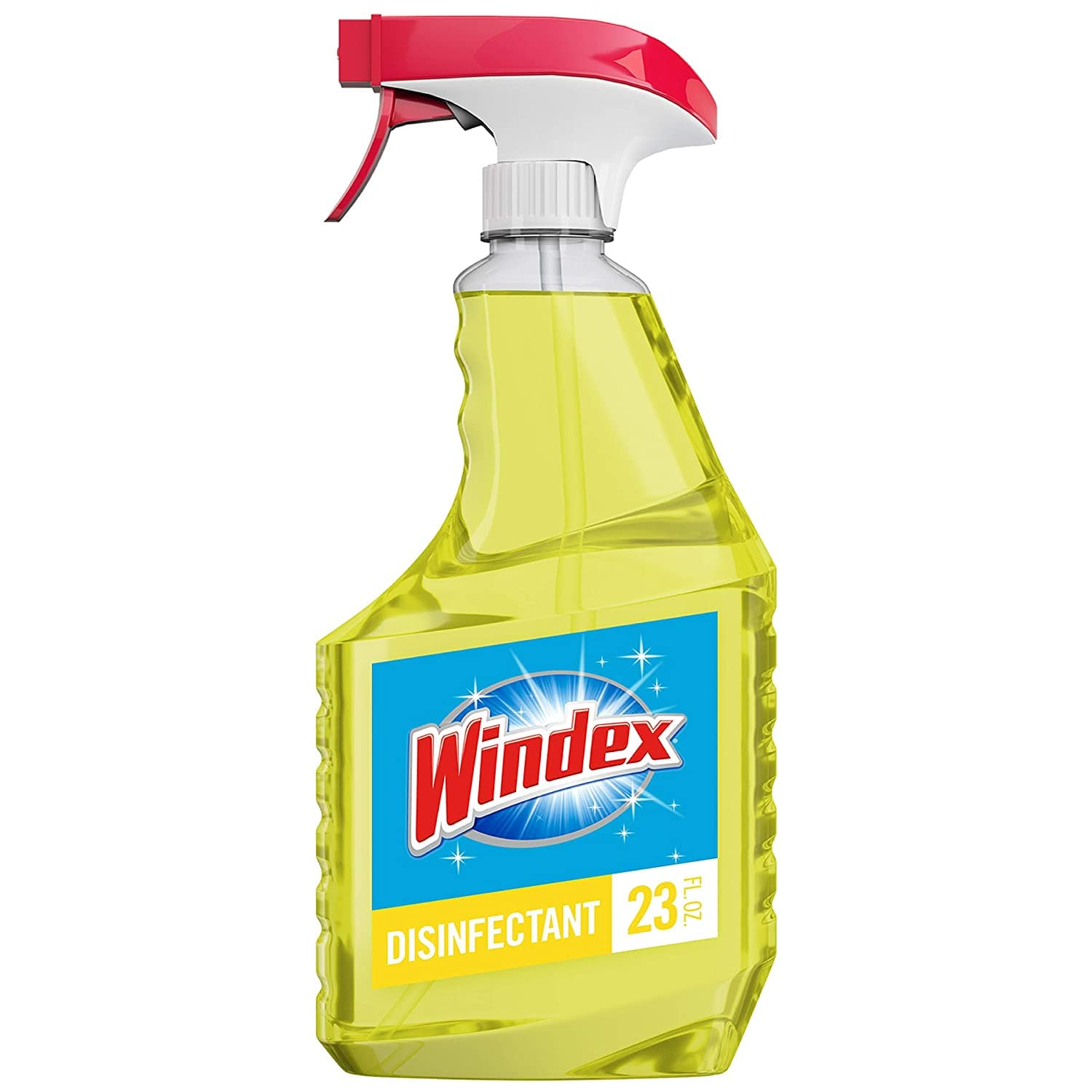 Windex Multi-Surface Cleaner and Disinfectant Spray Bottle, Citrus Fresh Scent, 23 fl oz  $3.48