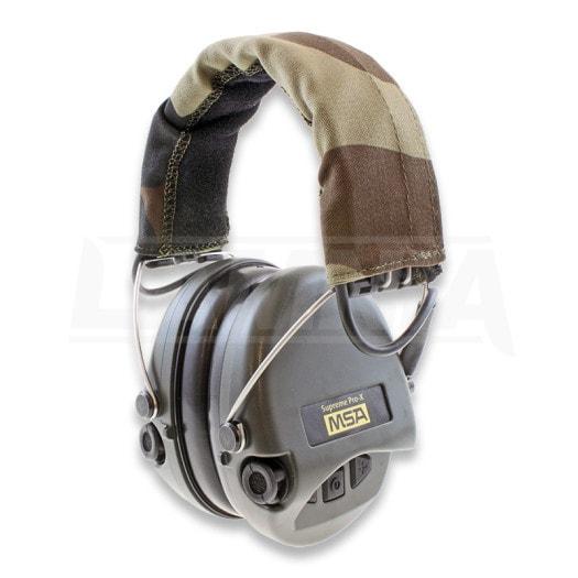 MSA Sordin Supreme Pro X earmuffs ear protection, headband, green $164
