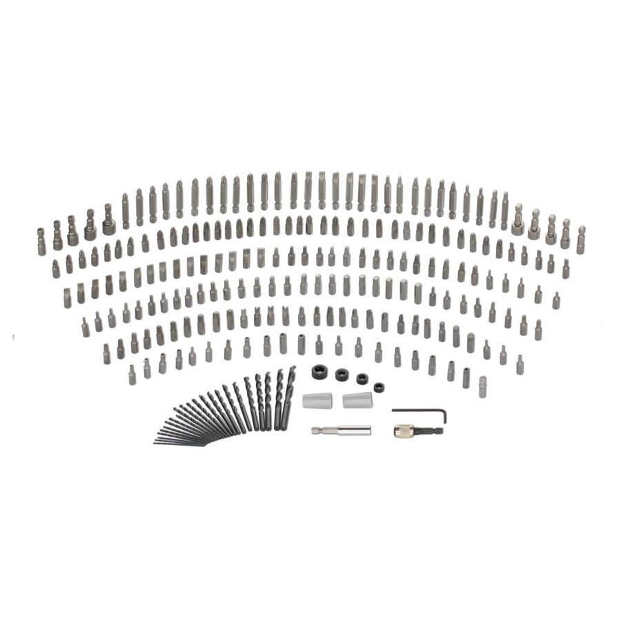 Kobalt 50-Piece High-Speed Steel Round Shank Screwdriver Bit Set $4.99 YMMV