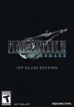 1st Class Edition FINAL FANTASY VII REMAKE (PS4 Edition) $329.99 @Square Enix Store