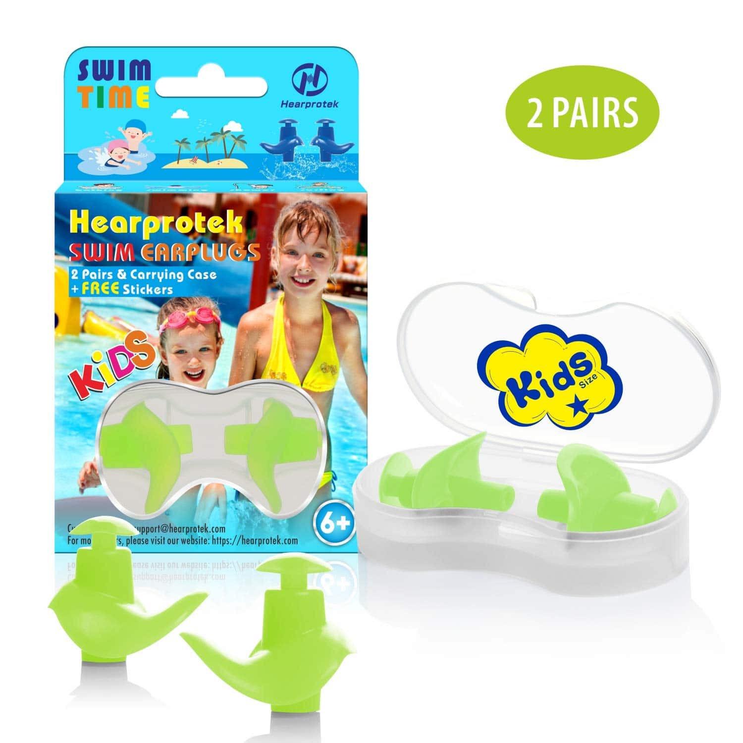 Swimming Ear Plugs for kids size $6.99