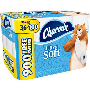 108 Rolls Charmin Ultra Soft plus $20 Award Promo for $60 at BJs Wholesale Club In-Store thru Nov 1  YMMV