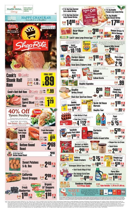 Get a $15 ShopRite Coupon when you buy a $100 Lowes Gift Card at ShopRite 12-10 thru 12-16 In-store