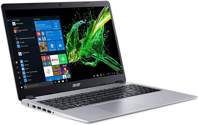 Amazon.com: Acer Aspire 5 Slim Laptop, 15.6 inches Full HD IPS Display, AMD Ryzen 3 3200U, Vega 3 Graphics, 4GB DDR4, 128GB SSD, Backlit Keyboard, Windows 10 in S Mode, A515-43-R19