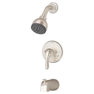 Symmons 9602 Origins 1-Handle Tub and Shower Faucet Trim Kit Satin Finish Free S/H - $54