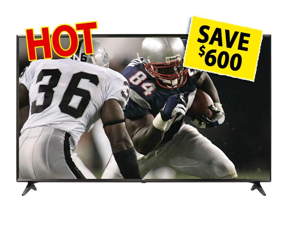 """LG 65UJ6300 65"""" Class (64.5"""" Diag.) 4K Ultra 2160p HD IPS HDR Smart LED TV Micro Center In-Store only - $699.99+tax"""