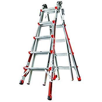 Little Giant Ladder Systems 12017-801 Revolution M17 with Ratcheting Levelers - $148.34 free s/h