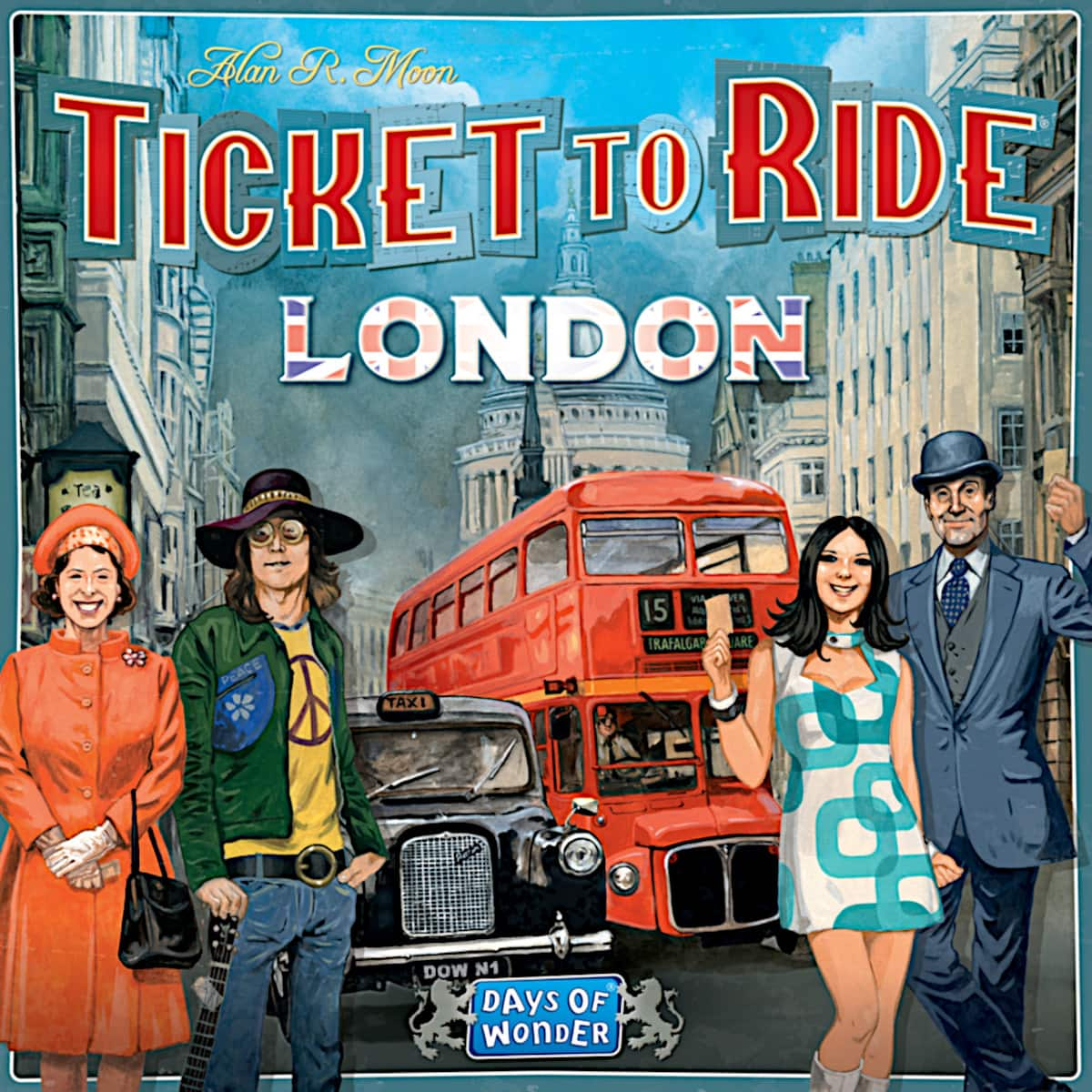Ticket to Ride: London Strategy Board Game $9.36