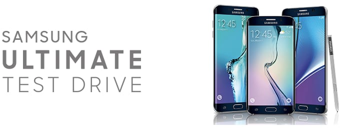 samsung ultimate test drive is back!