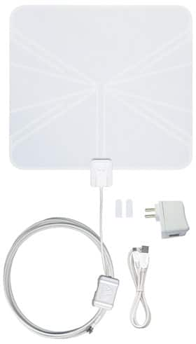 Winegard Flatwave Amplified HDTV Indoor Antenna FL5500S 50 miles $34.99 shipped @ CostCo