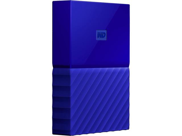 WD 2TB My Passport Portable Hard Drive USB 3.0 in Blue $64.99 shipped @ newegg