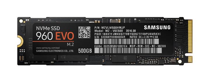 Samsung 960 EVO 500GB MLC V-NAND PCIe Gen 3 x4 NVMe M.2 2280 Internal SSD $139.99 @ Micro Center
