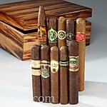 Cigar.com Starter Set IV - 10 CIGARS and HUMIDOR $29.99 plus $6.99 shipping. Cigar.com