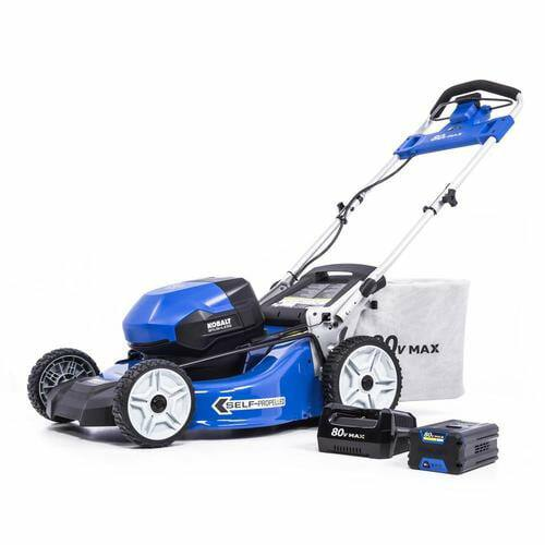 Lowes.com| $299 + shipping or free pick up where available. Kobalt 80-Volt Max Brushless Lithium Ion Self-Propelled 21-in Cordless Electric Lawn Mower (Battery Included)