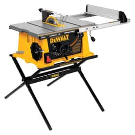 DeWalt DW744X portable table saw at Lowe's,   $167.60  YMMV