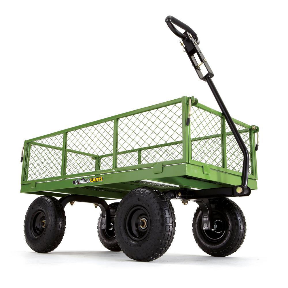 Gorilla Steel Utility Cart - $25 Home Depot YMMV