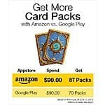 Amazon offering 5000 Amazon Coins for $40 (Hearthstone packs, amazon apps and in-app purchases through Amazon AppStore)
