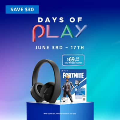 PlayStation Days of Play Sale - Up to 50% off select games, 30% off select PS Now and PS Plus memberships and more