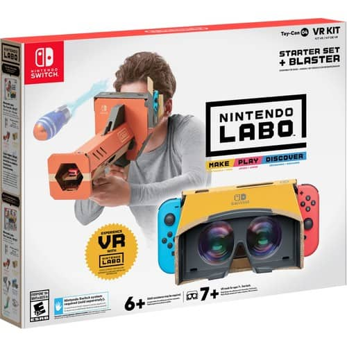 Nintendo Labo Kits Robot Kit $19.99 at Best Buy