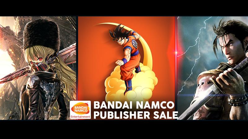 Bandai Namco Publisher Sale on Steam - Code Vein $35.99, Soul Calibur VI $14.99, Tales of Berseria $12.49, Tekken 7 $9.99 and more