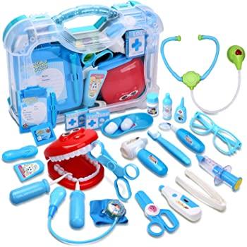 Cute Stone 30PCS Kids Toy Medical Kit $12.10