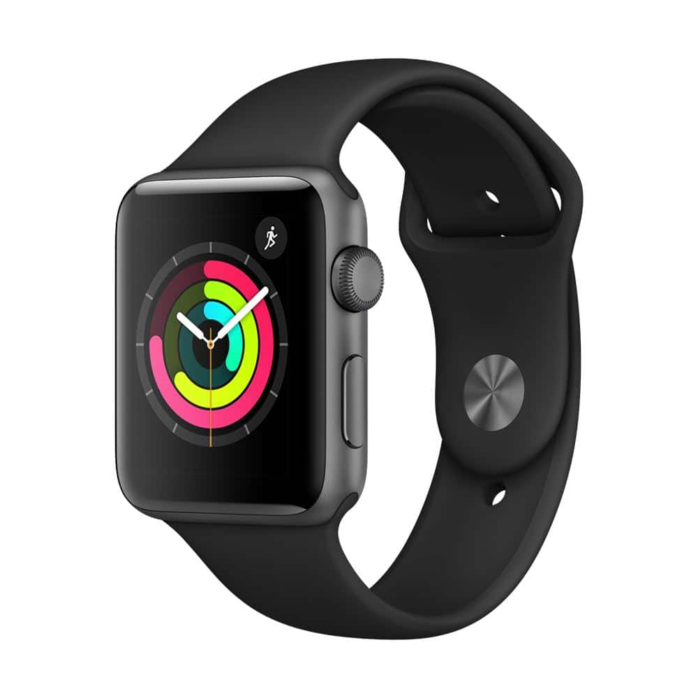 Apple Watch series 3 GPS 42mm aluminum space gray IN STORE ONLY- $189