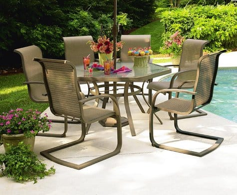 ***DEAD***SEARS Garden Oasis by Grandview Patio Dining Set 6 Chairs/ 1 Table $215.99 (before tax) with promo code GRAND in store pickup free