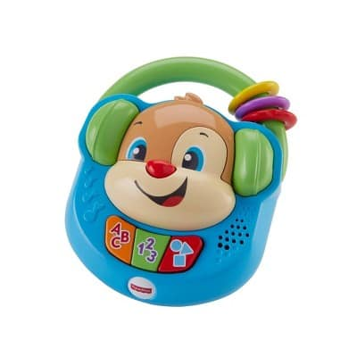 Fisher-Price Laugh and Learn Sing and Learn Music Player $3.94, Fisher-Price Chatter Telephone $4.19, Fisher-Price Laugh & Learn Puppy's Mix Tape $5.59 & More