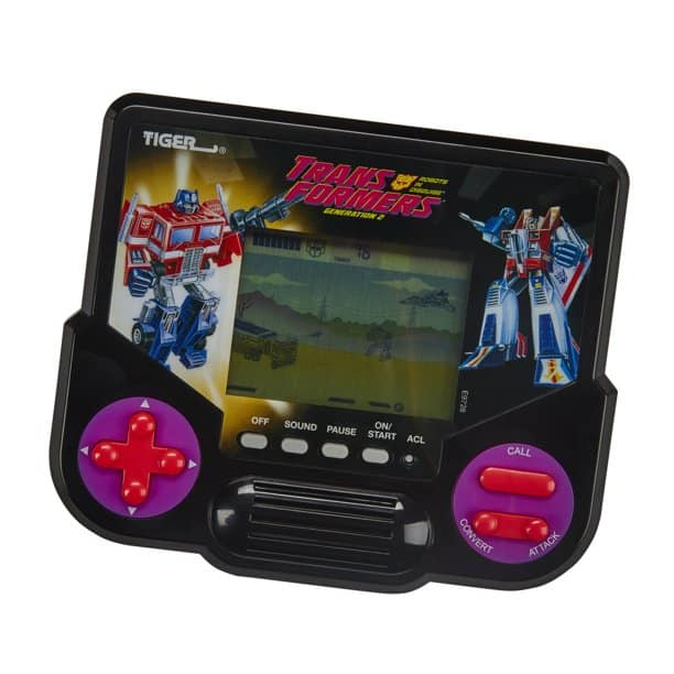 Tiger Electronics Transformers Edition Retro LCD Handheld Video Game for $3.27