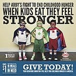 Arby's - Donate $1 or more to No Kid Hungry, Get a coupon for a free small shake or turnover w/ your next purchase.