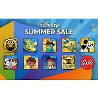Amazon Deal: Disney Android Apps on sale for $0.99 on Amazon.