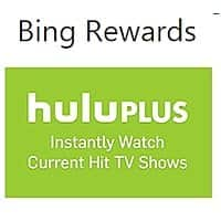 Bing Rewards Deal: Heads up for Bing Rewards! Hulu Plus 1-month Subscriptions will be increasing to 680 credits starting July 6th. Currently 450 credits (420 for Gold).