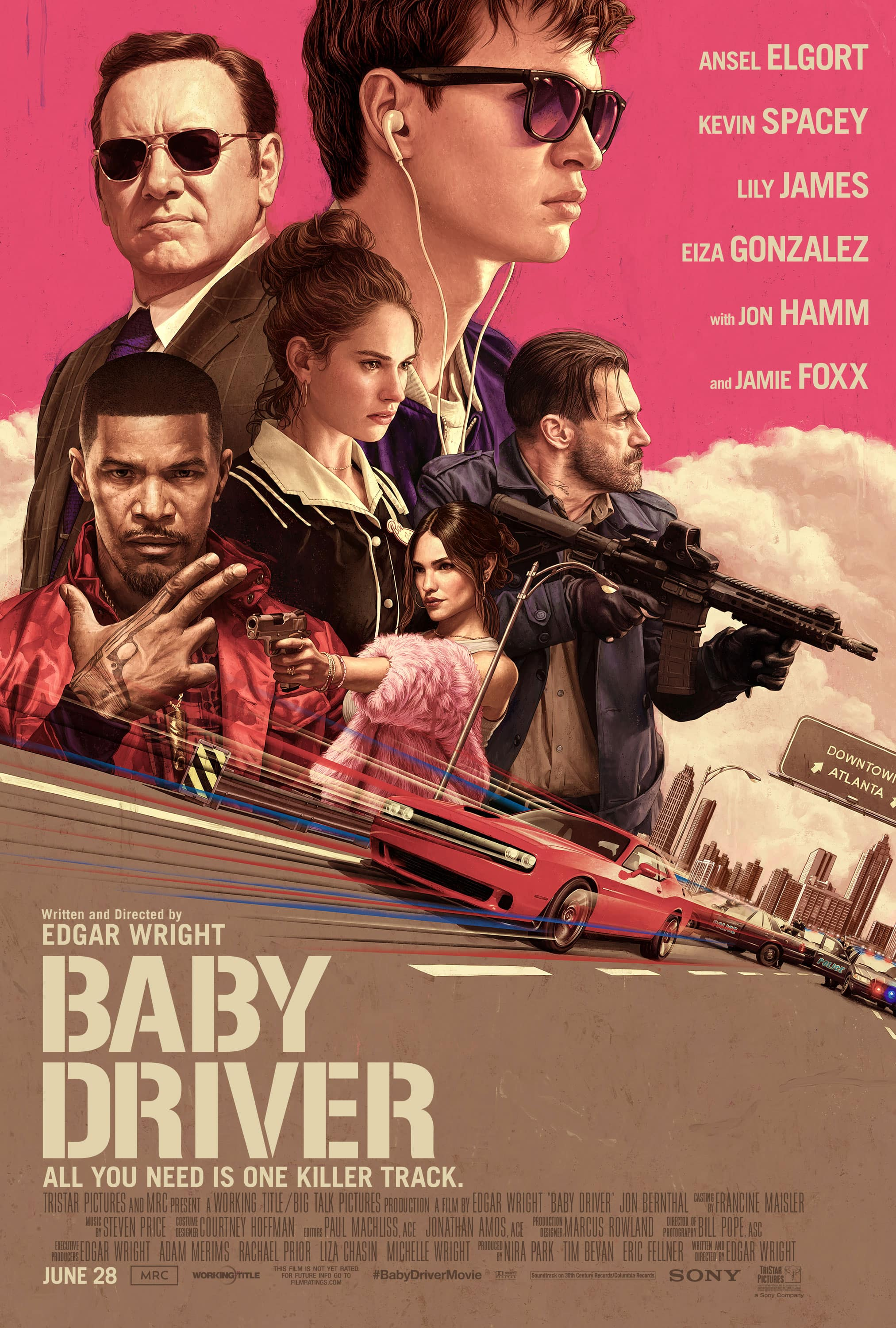 AMC Theatres - Buy a movie ticket to see Baby Driver (8/25 -8/27) & get bonus movie download of the film ($15 value)