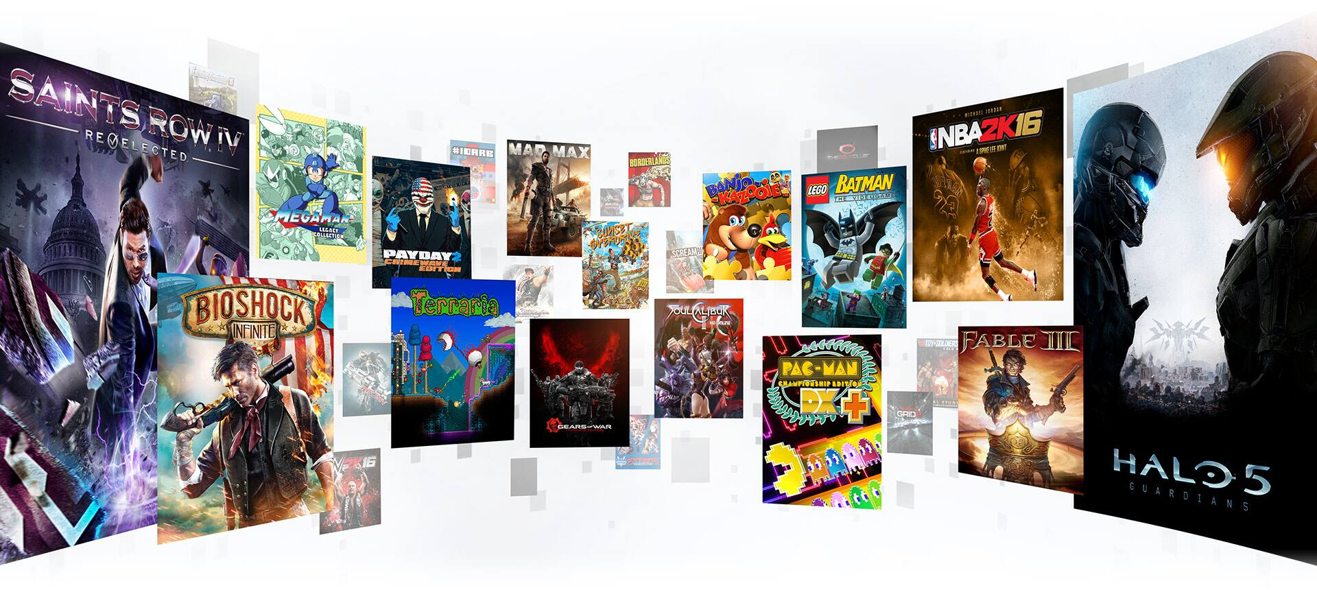 Play 1 - 5 Xbox One Game Pass Games for at least 30 minutes each and receive Mystery Gifts (Valued between $5 - $10)