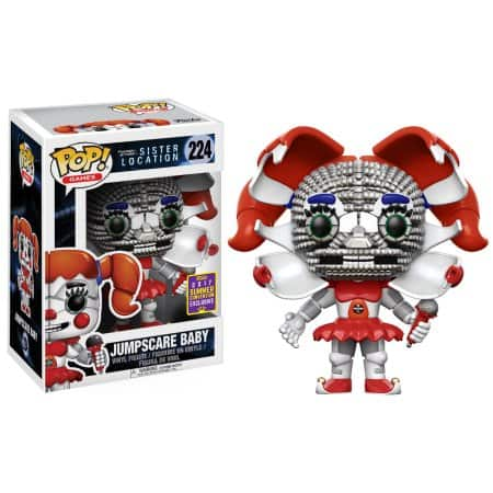 Funko Pop! Games: Five Nights at Freddy's Sister Location - Jumpscare Baby Summer Convention Exclusive (Walmart Exclusive) for $1.98 @ Walmart