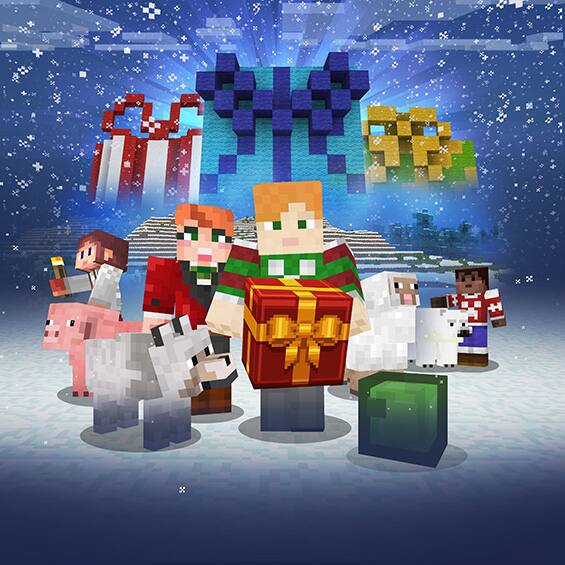 12 Days of Minecraft - Free Gift Each Day On The Marketplace From Dec 21, 2017 - Jan 1, 2018
