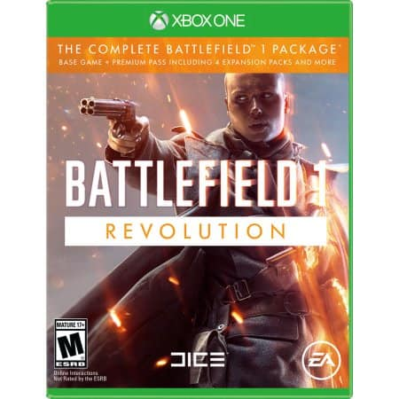 Battlefield 1: Revolution (PS4 or Xbox One) for $29.99 @ Walmart