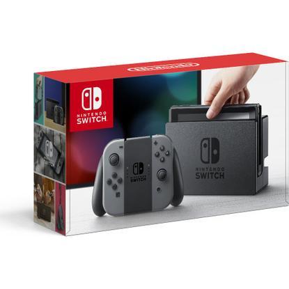 Nintendo Switch Console w/ Gray Joy-Con for $259.99 + Free Shipping @ Toys R Us via Rakuten